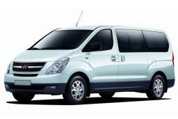 Аренда Hyunday Starex с водителем, люкс микроавтобус, кожа, 2-х зонный климат,  2 ТВ, холодильник (вместимость 7 человек) : Бечичи, Черногория