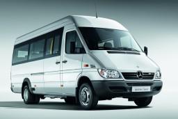 Аренда Mercedes Sprinter, мини-автобус с водителем (вместимость 18 человек) : Боко-Которская бухта, Черногория