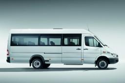 Аренда Mercedes Sprinter, мини-автобус с водителем (вместимость 18 человек) : Бечичи, Черногория