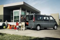 Аренда Renault Trafic с водителем (вместимость 8 человек) : Бечичи, Черногория