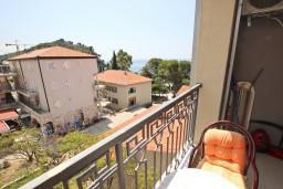 Будванская ривьера, Черногория, Петровац : Студия для 2-3 человек, c балконом с видом на море, 40 метров до пляжа
