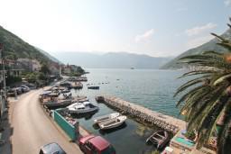 Вид на море. Боко-Которская бухта, Черногория, Столив : Апартамент для 4-6 человек, с 2-мя отдельными спальнями, с 2-мя ванными комнатами, 15 метров до моря