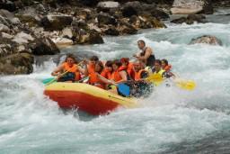Рафтинг на реке Тара : Боко-Которская бухта, Черногория
