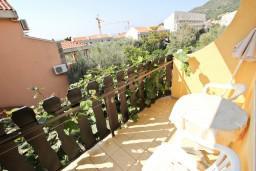 Балкон. Будванская ривьера, Черногория, Петровац : Комната для 2 человек, с балконом
