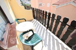 Балкон. Будванская ривьера, Черногория, Петровац : Студия с балконом с видом на море