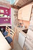 Кухня. Боко-Которская бухта, Черногория, Котор : Уютная студия для 2 человек