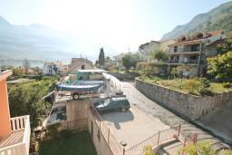 Вид. Боко-Которская бухта, Черногория, Прчань : Студия для 2 человек, с балконом с видом на море, 20 метров до пляжа