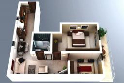 Прочее. Рафаиловичи, Черногория, Рафаиловичи : Апартамент для 4-6 человек, с 2-мя отдельными спальней, 30 метров до пляжа