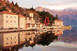 Прочее. Боко-Которская бухта, Черногория, Пераст : Апартамент для 4-6 человек, с 2-мя отдельными спальнями, с террасой с видом на море, возле пляжа