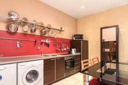 Кухня. Боко-Которская бухта, Черногория, Котор : Апартамент для 6-8 человек, с 3-мя отдельными спальнями, с просторной гостиной, с ванной комнатой с джакузи, с большой террасой