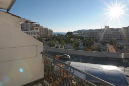 Балкон. Бечичи, Черногория, Бечичи : Двухместная студия с видом на море (№2 Studio 02/ SV)