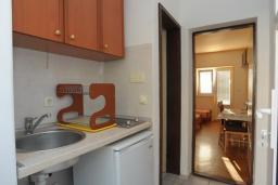 Студия (гостиная+кухня). Бечичи, Черногория, Бечичи : Трехместная студия с видом на море (№1 Studio 03/ SV)