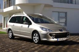 Peugeot 307 SW 2.0 автомат : Будванская ривьера, Черногория