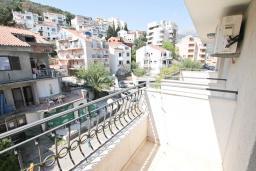 Балкон. Будванская ривьера, Черногория, Будва : Комната для 2 человек, с балконом