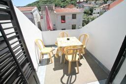 Балкон 2. Будванская ривьера, Черногория, Будва : Апартамент с 2-мя отдельными спальнями, с 2-мя балконами