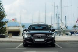 Audi A8 3.0 автомат : Боко-Которская бухта, Черногория