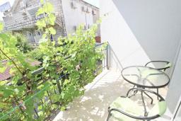 Балкон. Будванская ривьера, Черногория, Булярица : Студия на пляже Булярицы