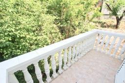 Балкон. Будванская ривьера, Черногория, Будва : Комната для 2 человек, с балконом, с общей кухней