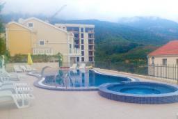 Бассейн. Бечичи, Черногория, Бечичи : Современный апартамент с отдельной спальней, с балконом