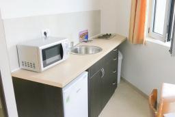 Студия (гостиная+кухня). Будванская ривьера, Черногория, Риека Режевичи : Студия для 2 человек с видом на море