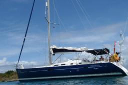 Парусная яхта Beneteau Oceanis Clipper 473 : Будванская ривьера, Черногория