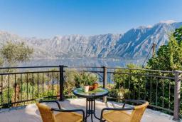 Вид на море. Боко-Которская бухта, Черногория, Муо : Вилла с бассейном и шикарным видом на море, гостиная, 6 спален, 3 ванные комнаты, Wi-Fi