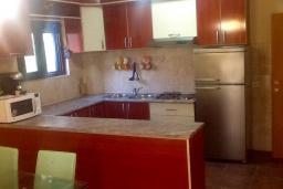 Кухня. Будванская ривьера, Черногория, Будва : Четырехэтажный дом с двумя гостиными, двумя кухнями, 6 спален, 6 ванных комнат, гараж, сауна