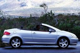 Peugeot 307 kabrio 2.0 механика кабриолет : Бечичи, Черногория