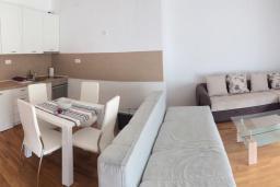 Гостиная. Рафаиловичи, Черногория, Рафаиловичи : Апартамент с отдельной спальней и балконом с видом на море