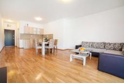 Гостиная. Рафаиловичи, Черногория, Рафаиловичи : Апартамент с гостиной, отдельной спальней и балконом