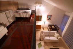 Гостиная. Бечичи, Черногория, Бечичи : Апартаменты с 1 спальней и балконом