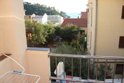 Вид на море. Будванская ривьера, Черногория, Петровац : Студия с балконом и видом на море