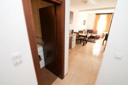 Гостиная. Будванская ривьера, Черногория, Петровац : Апартамент на втором этаже с балконом