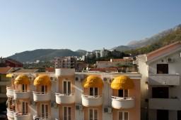 Вид. Будванская ривьера, Черногория, Рафаиловичи : Студия с видом на море, 50 метров от пляжа