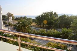 Вид на море. Бечичи, Черногория, Бечичи : Апартамент в Бечичи с балконом с видом на море