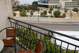Вид на море. Бечичи, Черногория, Бечичи : Студия с балконом с видом на море