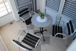 Балкон. Бечичи, Черногория, Бечичи : Студия в Бечичи с видом на море