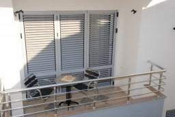 Балкон. Бечичи, Черногория, Бечичи : Студия в Бечичи в 200 метрах от моря