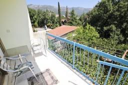 Балкон. Бечичи, Черногория, Бечичи : Апартаменты на 6 персон, 2 отдельные спальни
