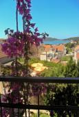 Бечичи, Черногория, Бечичи : Комната на 3 персоны с кондиционером, с видом на море