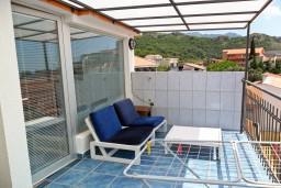 Будванская ривьера, Черногория, Бечичи : Комната на 3 персоны с кондиционером, с видом на море