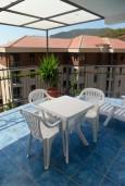 Будванская ривьера, Черногория, Бечичи : Комната на 4 персоны с кондиционером, с видом на море