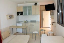 Студия (гостиная+кухня). Будванская ривьера, Черногория, Бечичи : Студия в 500 метрах от моря на вилле с бассейном
