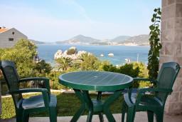 Вид на море. Будванская ривьера, Черногория, Пржно : Комната на 2 персоны с видом на море, 30 метров от пляжа