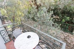Балкон. Будванская ривьера, Черногория, Святой Стефан : Комната на 2 персоны с кондиционером
