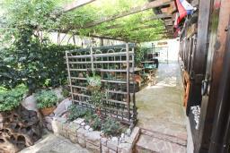 Территория. Будванская ривьера, Черногория, Булярица : Деревянный домик с кухней и двумя отдельными спальнями