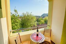 Балкон. Будванская ривьера, Черногория, Булярица : Двухместный номер с балконом и видом на море