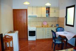 Кухня. Будванская ривьера, Черногория, Будва : Студия в Будве с террасой