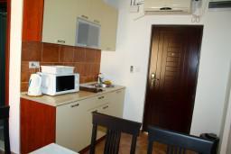 Кухня. Боко-Которская бухта, Черногория, Котор : Апартаменты на 5 персон, 2 спальни
