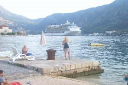 Ближайший пляж. Боко-Которская бухта, Черногория, Доброта : Апартамент в Доброте на первом этаже в 50 метрах от моря